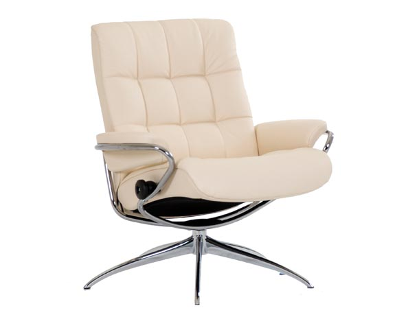 Poltrona Relax Manuale Stressless London Design Anni 60 Ed Elegante