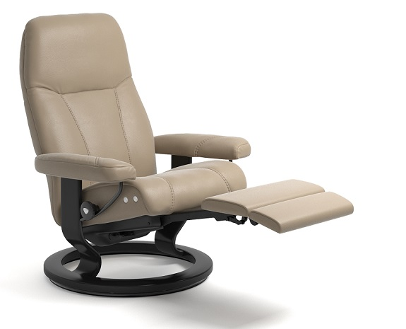 skandinavische sessel leder komfort stressless consul stressless. Black Bedroom Furniture Sets. Home Design Ideas
