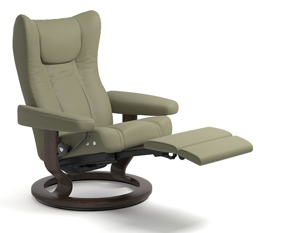 stressless wing leather recliner chairs. Black Bedroom Furniture Sets. Home Design Ideas
