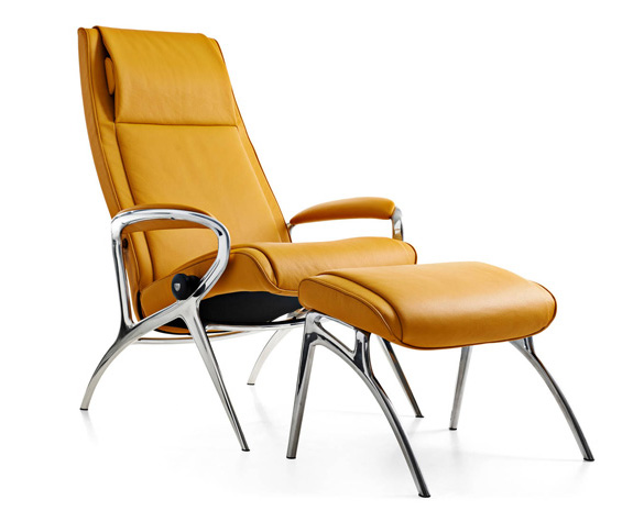 design hvilestoler stressless you james aluminium. Black Bedroom Furniture Sets. Home Design Ideas