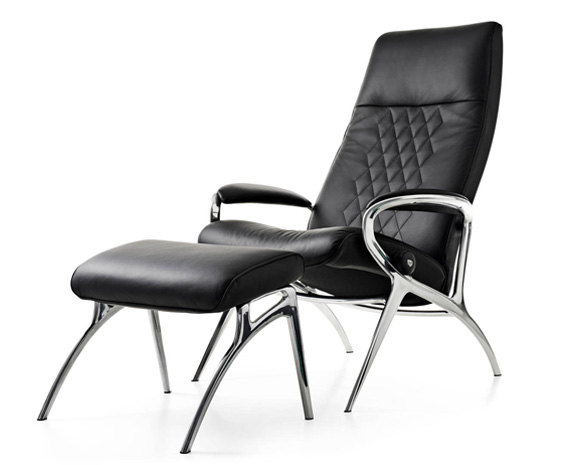 design hvilestoler stressless you micahel aluminium. Black Bedroom Furniture Sets. Home Design Ideas