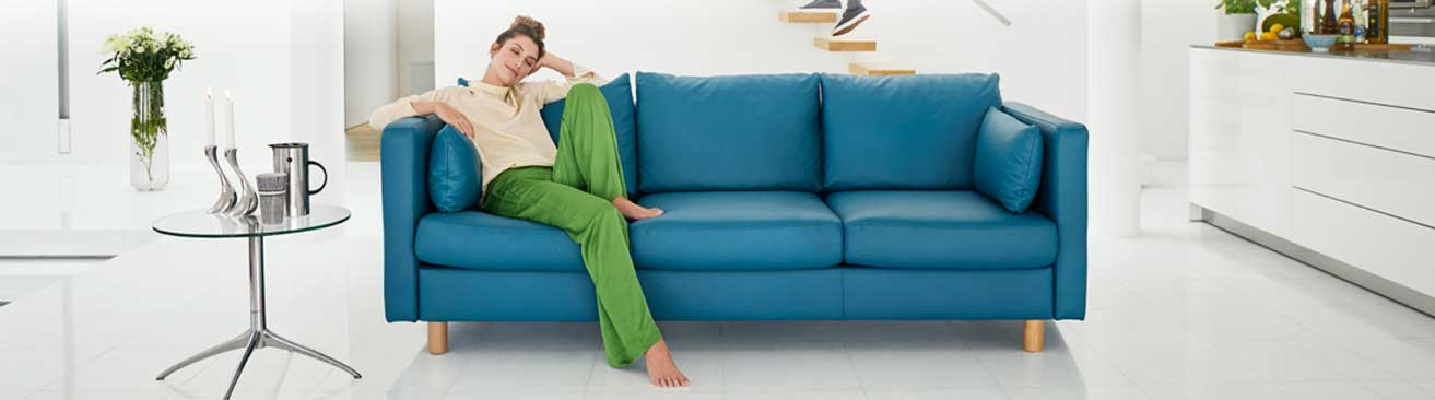 Recliner Sofas | Stressless Leather Reclining Sofas