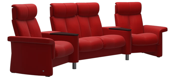 Home Theater Furniture Stressless Home Theater Sofas And Chairs