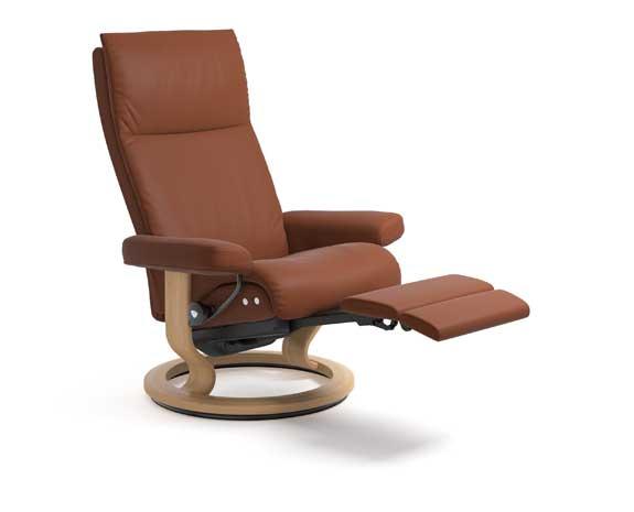 Groovy Stressless Aura M Stressless Unemploymentrelief Wooden Chair Designs For Living Room Unemploymentrelieforg
