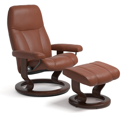 Stressless Consul Classic chair  sc 1 st  stressless.com & Leather Recliner Chairs | Scandinavian Comfort Chairs | Recliners