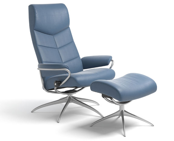 Dublin Chair High Back High Base W/BA