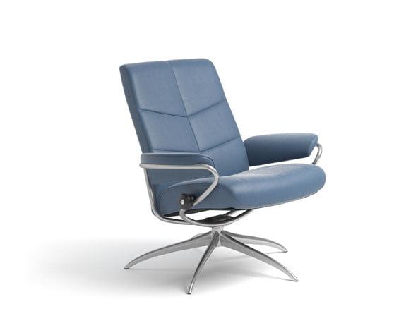 Dublin Chair Low Back High Base W/BA