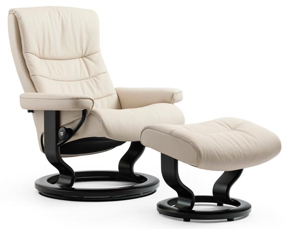 Stressless Nordic Classic chair  sc 1 st  stressless.com & Leather Recliner Chairs | Scandinavian Comfort Chairs | Recliners islam-shia.org
