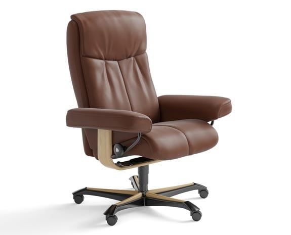 b rostuhl leder stressless peace. Black Bedroom Furniture Sets. Home Design Ideas