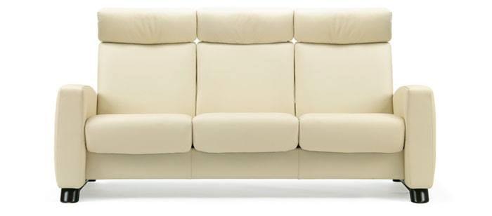 Stressless Arion Highback Sofa | Modern Recliner Leather ...