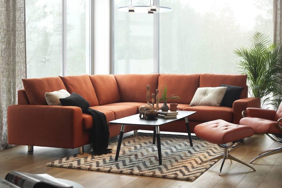 Stressless E200 Modern Recliner Leather Sofa