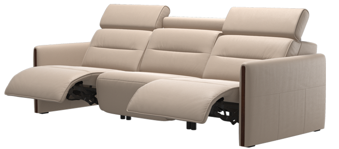 Stressless Emily Wood  3 Seater high back
