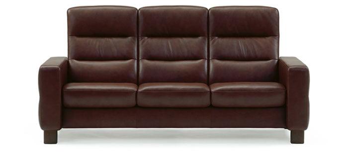 Leather Sofas Stressless Wave Lowback, Stressless Com Furniture
