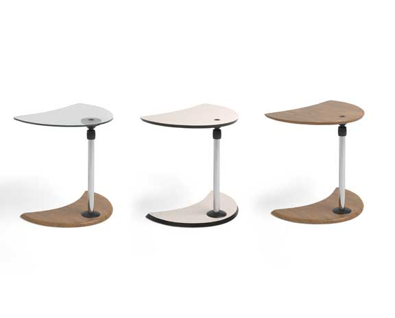 USB Table A Glass/Beech