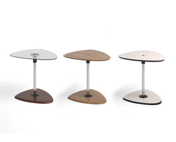 USB Table B Glass/Beech