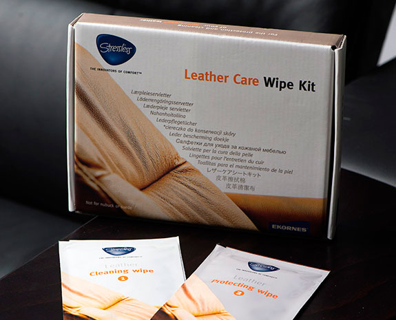 Leather Care Wipe Kit