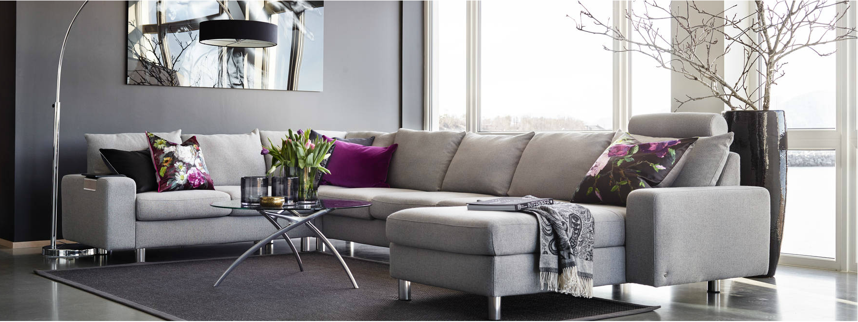 salons et canap s stressless. Black Bedroom Furniture Sets. Home Design Ideas