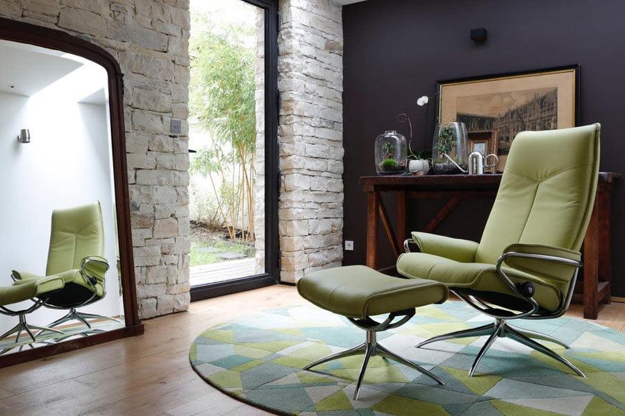 stressless city stol. Black Bedroom Furniture Sets. Home Design Ideas