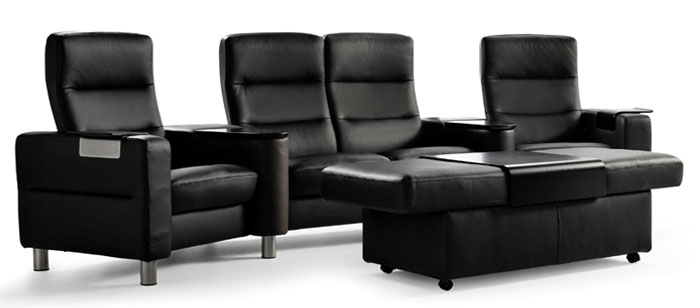 stressless heimkino stressless. Black Bedroom Furniture Sets. Home Design Ideas