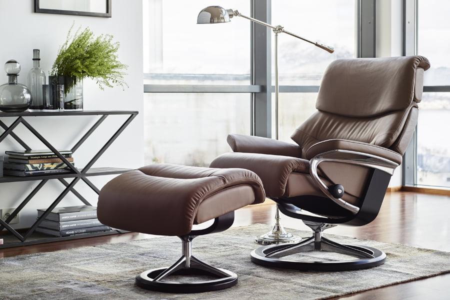 b rostuhl leder stressless capri. Black Bedroom Furniture Sets. Home Design Ideas