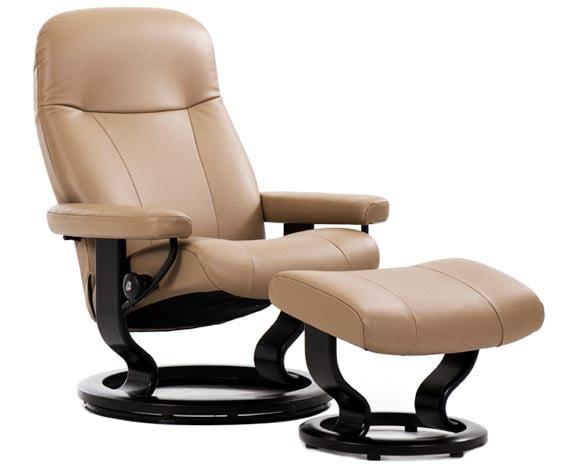Relaxsessel stressless  Ledersessel | Relaxsessel mit Hocker | Stressless Garda