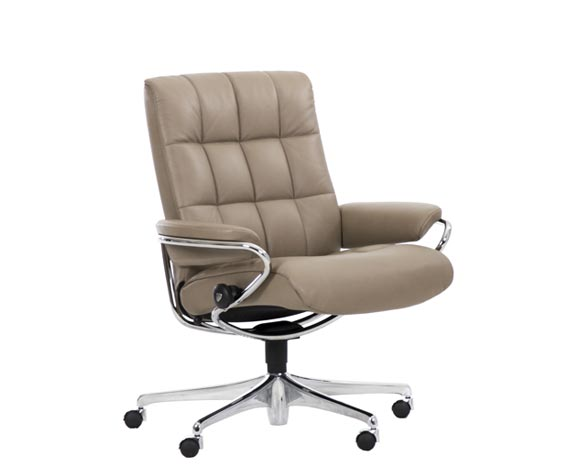 Stressless London Home Office Sessel niedrige Rückenlehne