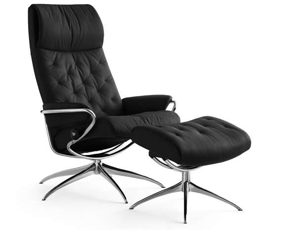 b rostuhl leder stressless metro chair high back w high. Black Bedroom Furniture Sets. Home Design Ideas