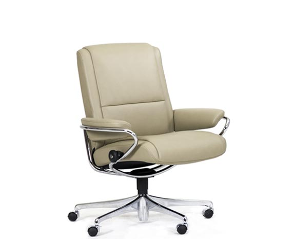 Stressless Paris Home Office Sessel niedrige Rückenlehne