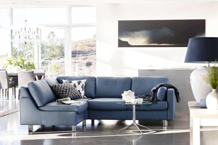 sofa mit modernen design stressless e600 3 sitzer stressless. Black Bedroom Furniture Sets. Home Design Ideas