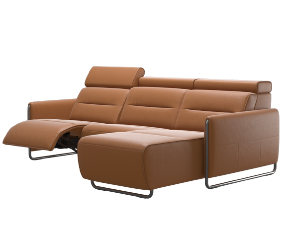 Stressless Emily motorized sofa with Long Seat