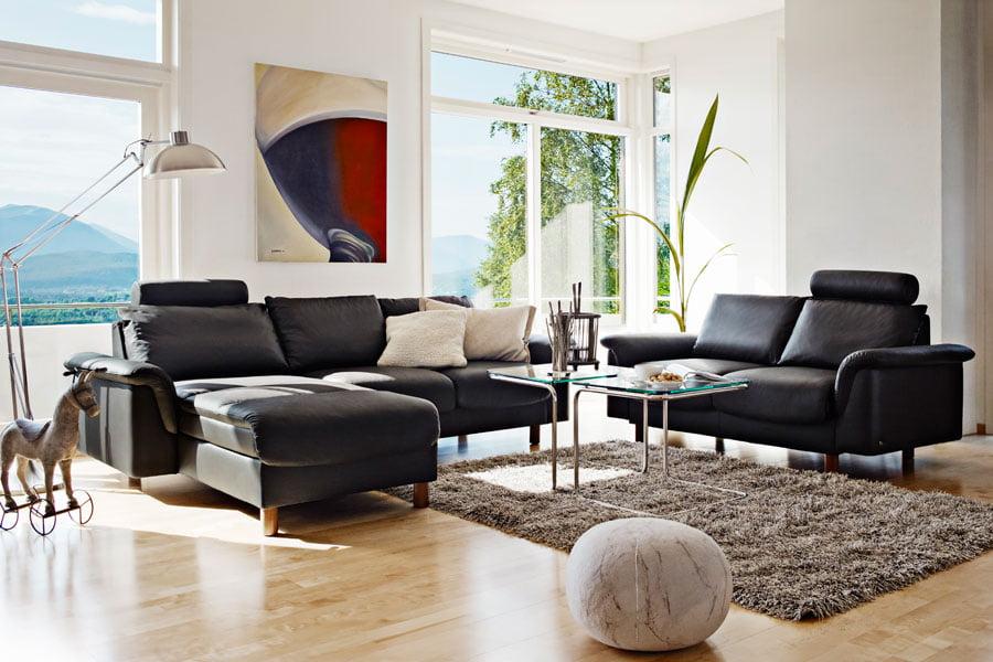 leather sofas stressless e300 modern recliner sofas. Black Bedroom Furniture Sets. Home Design Ideas