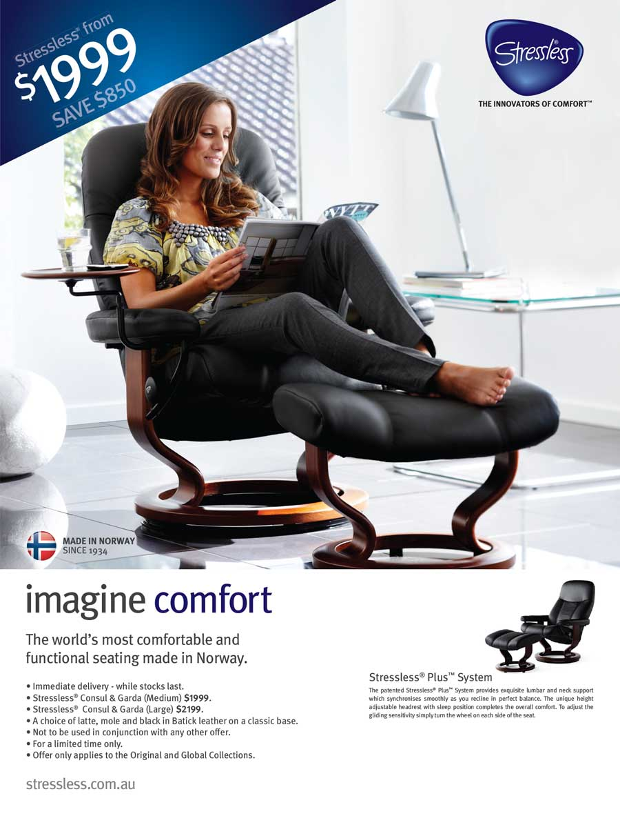 Stressless Campaign: save850$