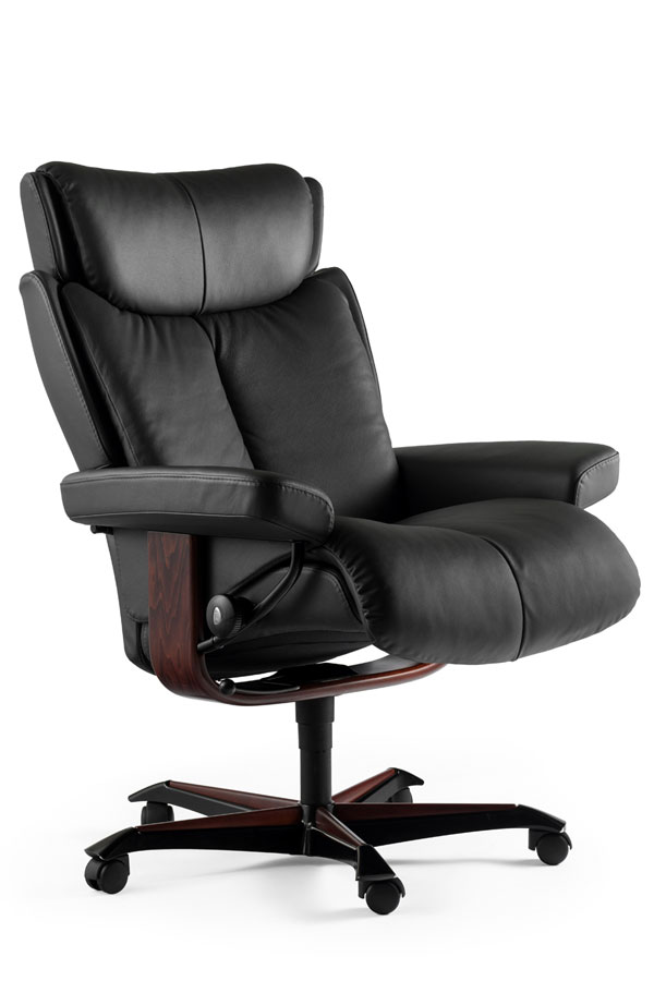 Stressless Magic Office Chair Ergonomic Leather Office Chair