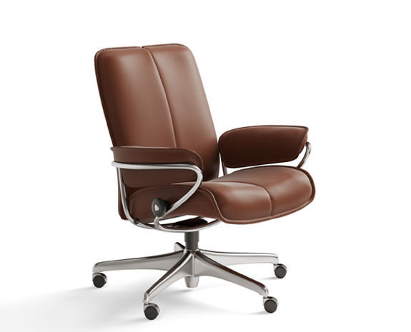 office chairs ergonomic leather office chairs from stressless. Black Bedroom Furniture Sets. Home Design Ideas