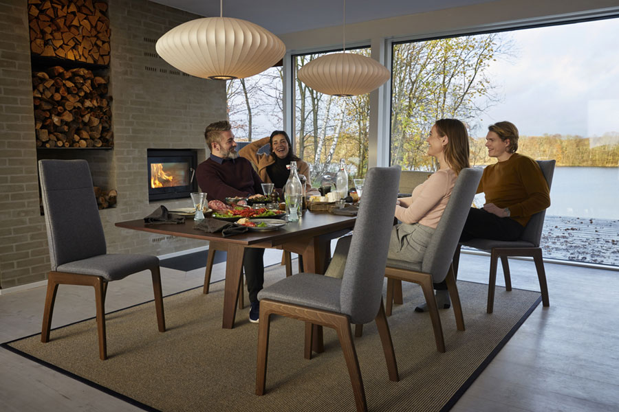 Stressless Toscana Table W Separate Leaf T100 Stressless