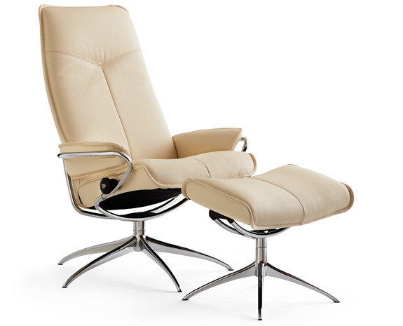 Stressless City Chair with High Back & High Base