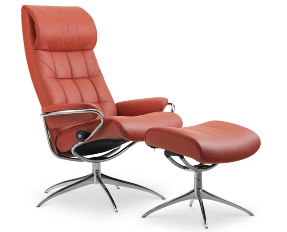 Stressless London Chair with High Back & Standard Base
