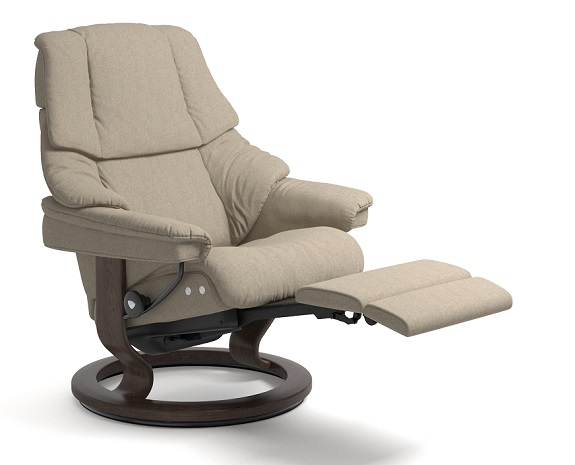 stressless reno leather recliner chair stressless. Black Bedroom Furniture Sets. Home Design Ideas