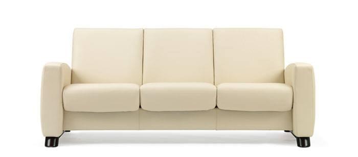 Leather Sofas Stressless Arion Highback Modern
