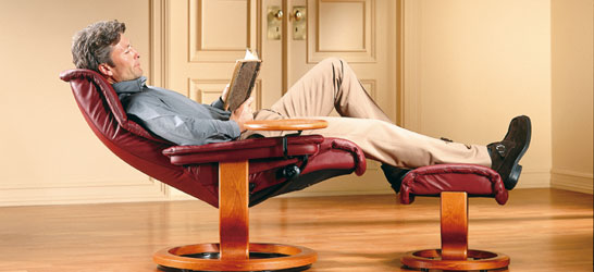At Last, People Could Read And Watch TV Leaning Back In A Recliner.  Stressless Consolidated Its Position As The Most Comfortable Swivel Recliner .
