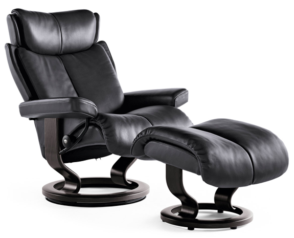 stressless magic recliner chairs. Black Bedroom Furniture Sets. Home Design Ideas