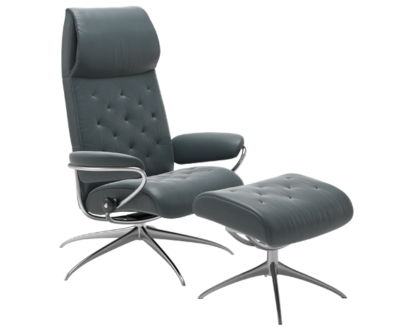 Stressless Metro High back Paloma Petrol
