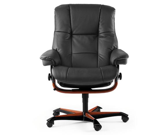 Le fauteuil de bureau Stressless Mayfair (M) by Stressless vous offre ...