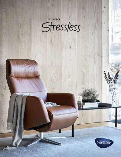 Stressless Catalogue 2020 cover