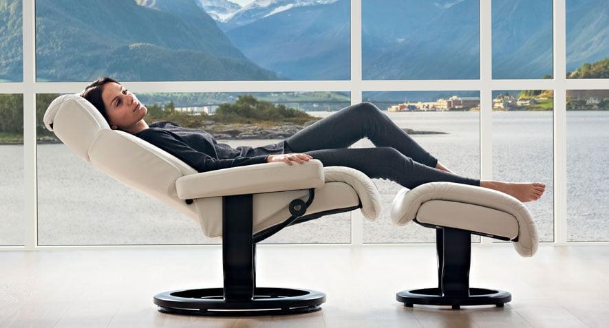 fauteuil home cin ma stressless legend dossier haut. Black Bedroom Furniture Sets. Home Design Ideas