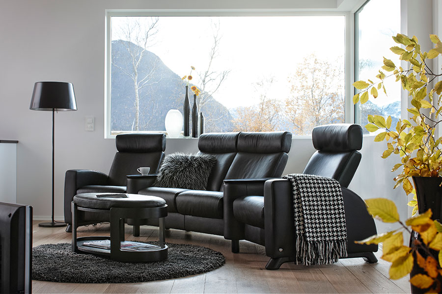 fauteuil home cin ma stressless arion dossier haut. Black Bedroom Furniture Sets. Home Design Ideas