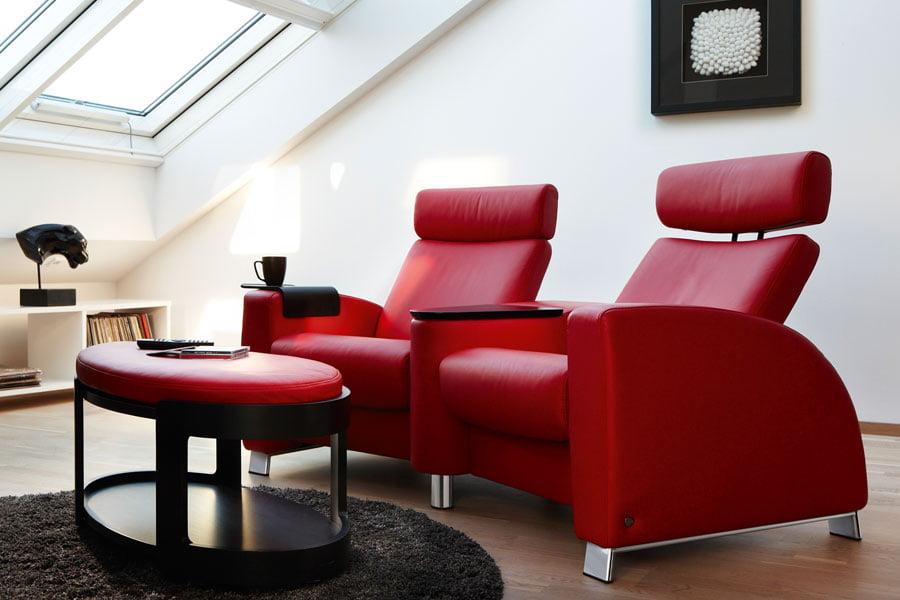 fauteuil home cin ma stressless arion dossier haut. Black Bedroom Furniture Sets. Home Design Ideas