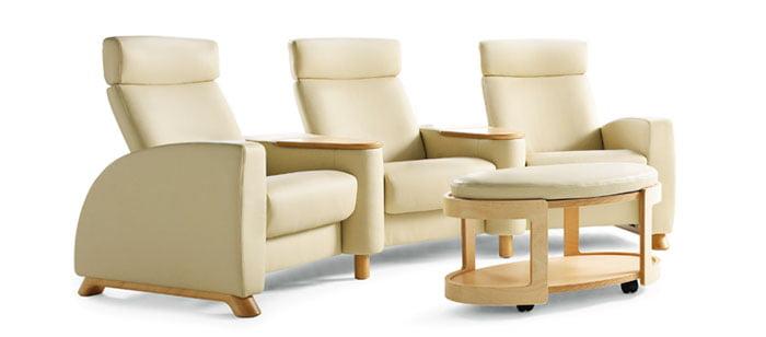 canap s fauteuils home cin ma stressless home cinema confort. Black Bedroom Furniture Sets. Home Design Ideas
