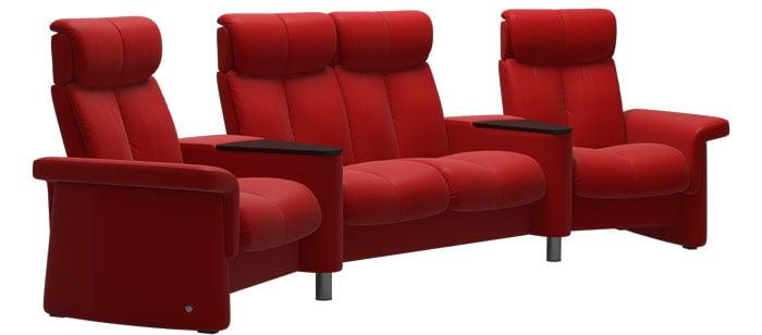 canap s fauteuils home cin ma stressless home cinema. Black Bedroom Furniture Sets. Home Design Ideas