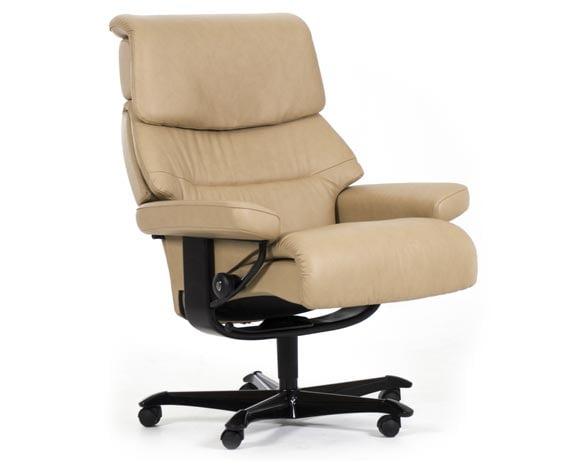 Fauteuil de bureau classique confortable, Stressless Capri Office ...
